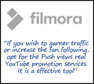 Filmora Push Views review